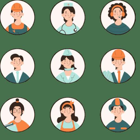 ejemplos de profesiones
