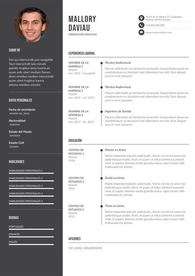 currículum de comunicación audiovisual