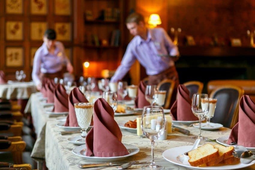 Servicio de restaurantes