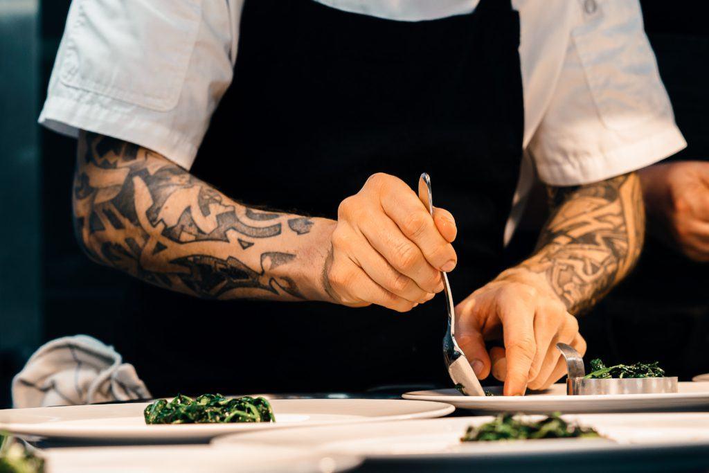 currículum de ayudante culinario
