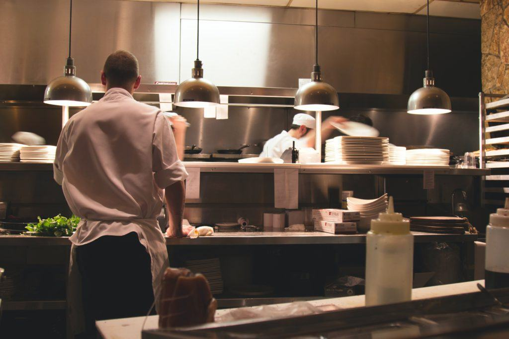 cv de ayudante de cocina