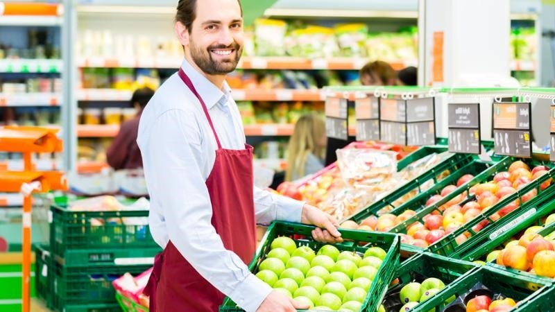currículum para supermercado