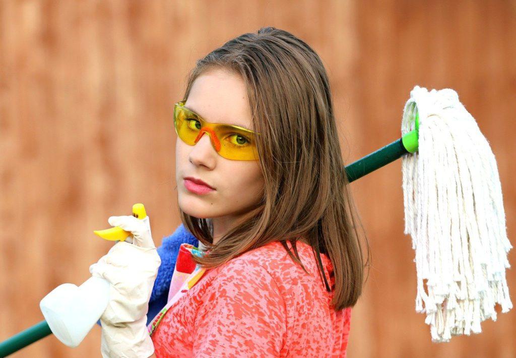 currículum de personal de limpieza
