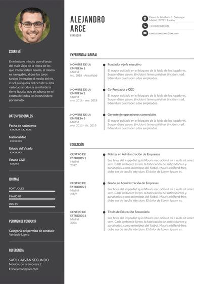 currículum de empresa