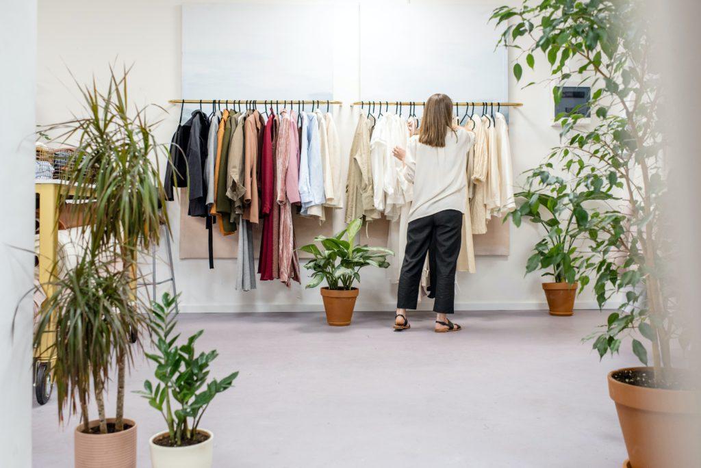 Dependienta de ropa