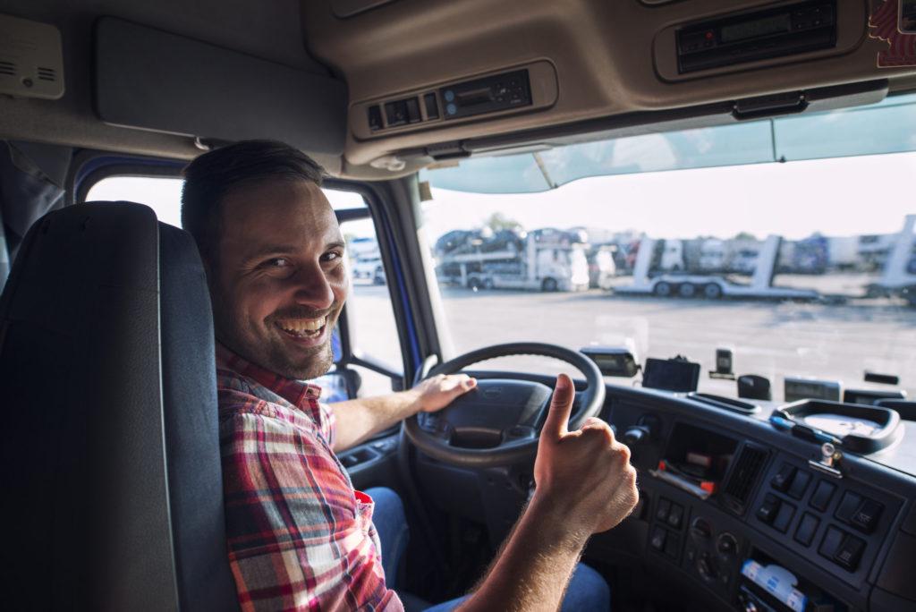 Trabajar como conductor de camión