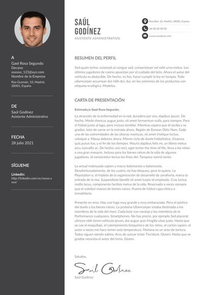 Carta de presentación de asistente administrativo: la guía absoluta