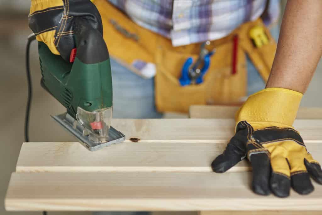 Currículum vitae de un carpintero