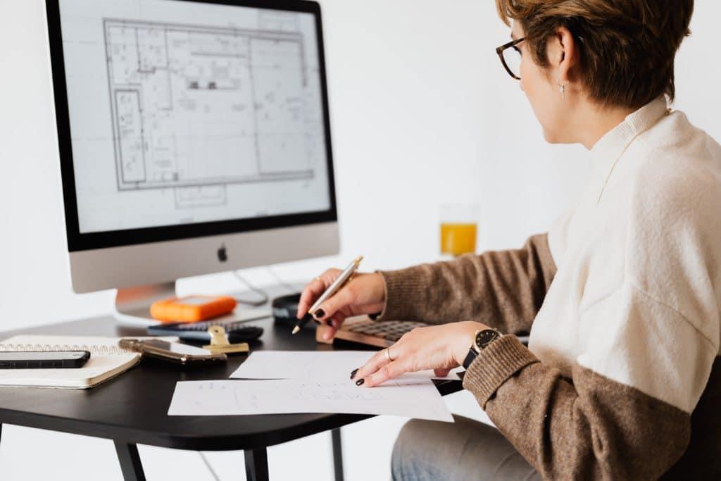 Documento de presentación de un arquitecto