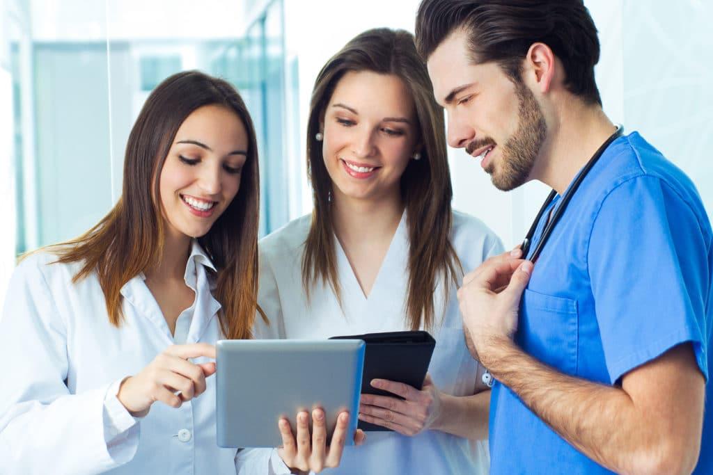 Carta de presentación de enfermera