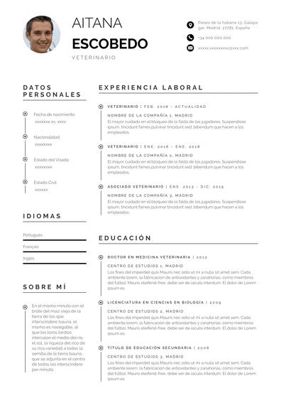 Curriculum de veterinario perth. Pdf