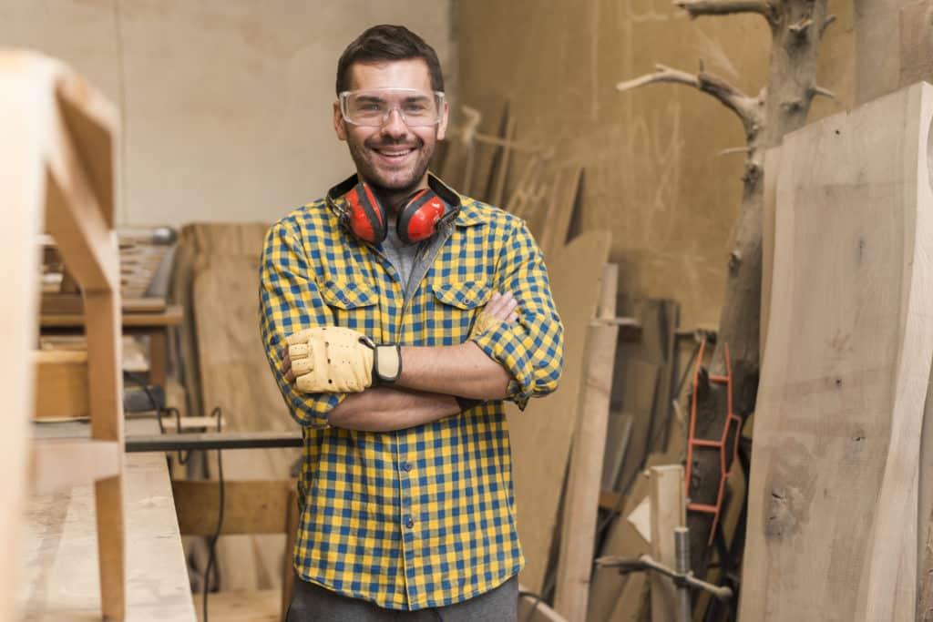Currículum vitae para carpinteros
