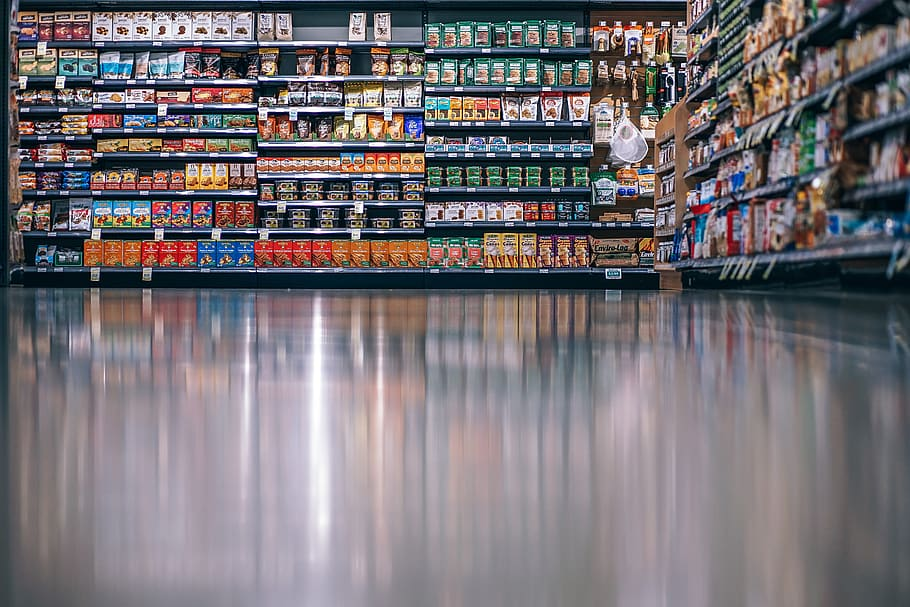 Empleo en un supermercado