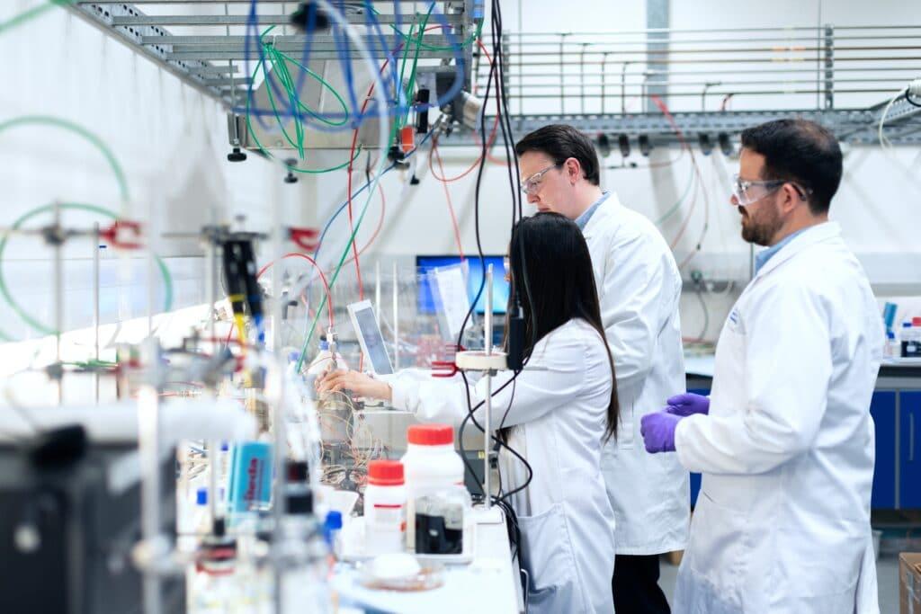 Currículum de un especialista en ingeniería química