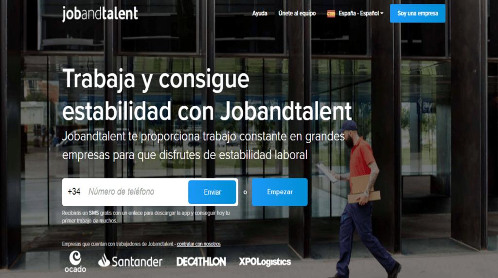 Portal de empleo jobandtalent