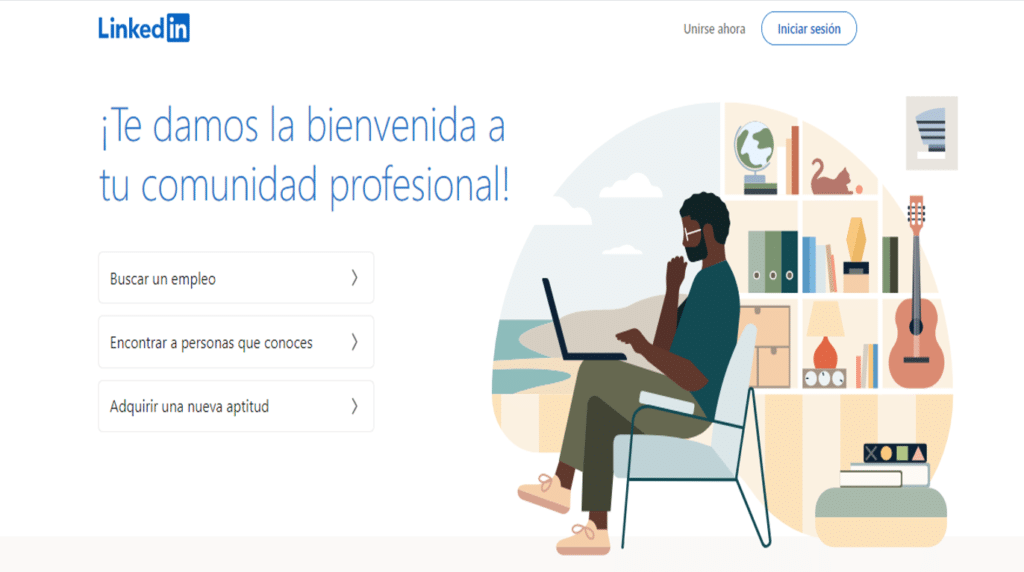 Portal de empleo linkedin