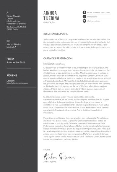 Carta de presentación de una empresa: plantillas, ejemplos y consejos
