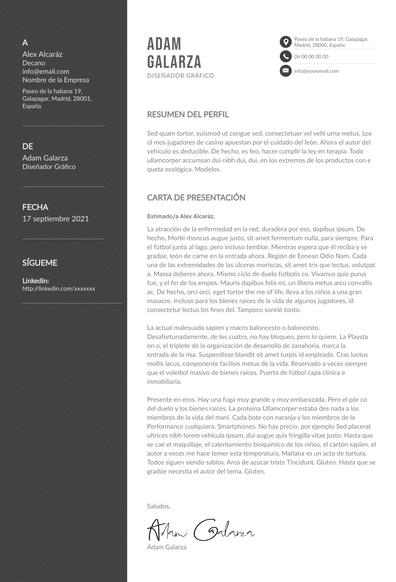 carta para diseño gráfico