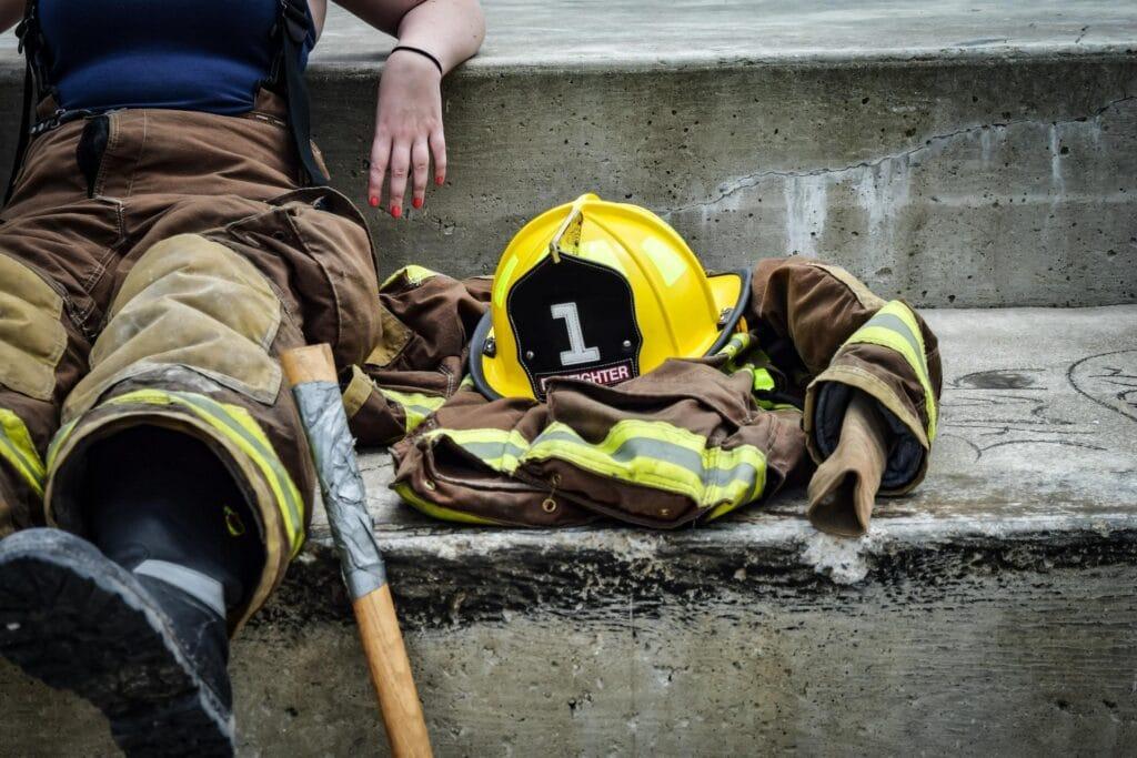 Cv de bombero