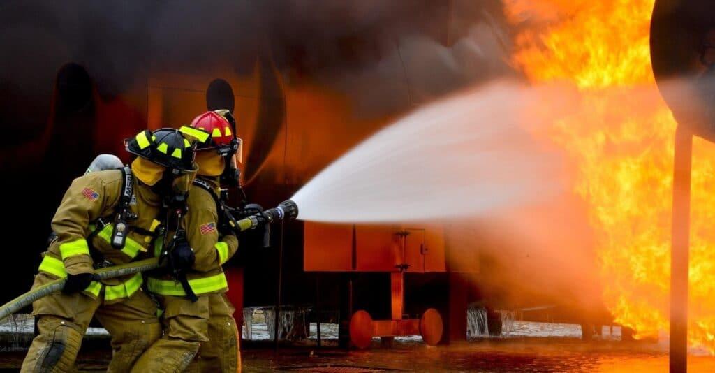 Empleo de bombero