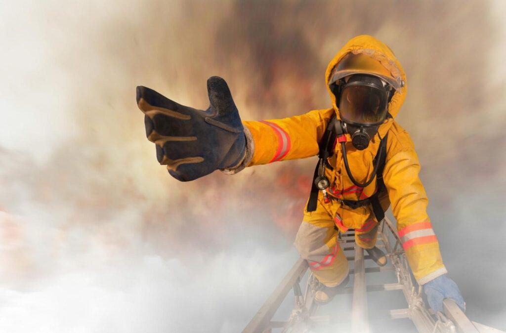 Curriculum para trabajar de bombero